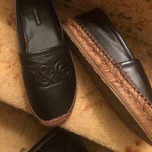 Dolce and Gabbana Black Espadrilles New Sz39